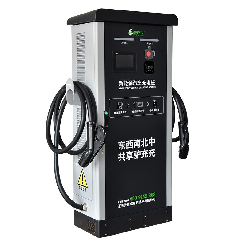 驴充充新能源直流立式电动汽车充电桩通用