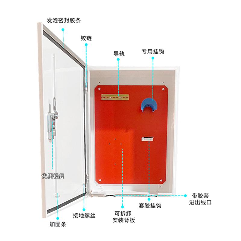 适用于特斯拉充电桩保护箱柜立柱model3新能源汽车户外壁挂式