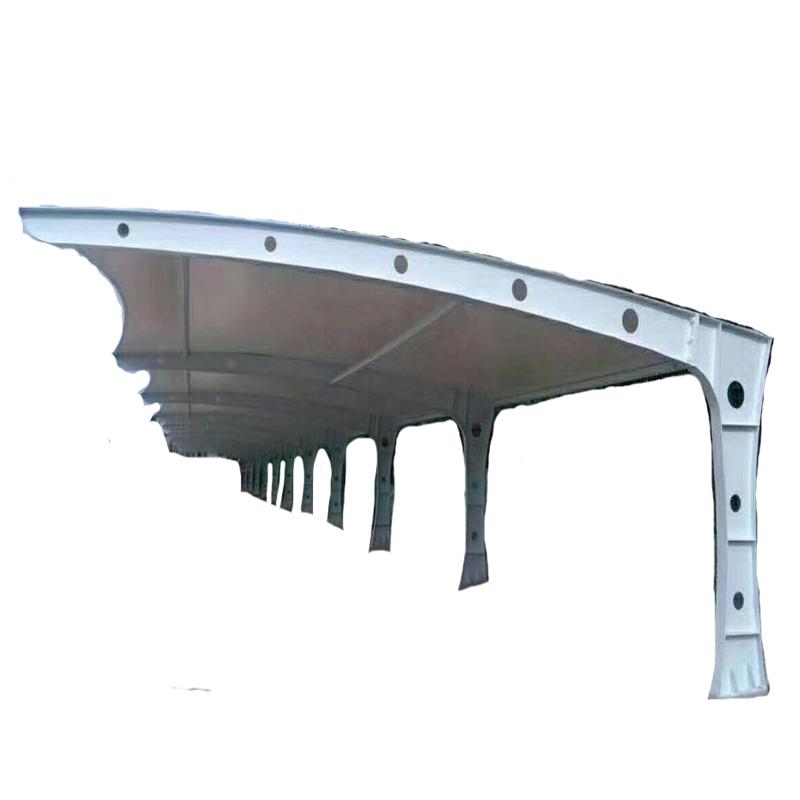 膜结构停车棚汽车棚小区自行车棚充电桩棚