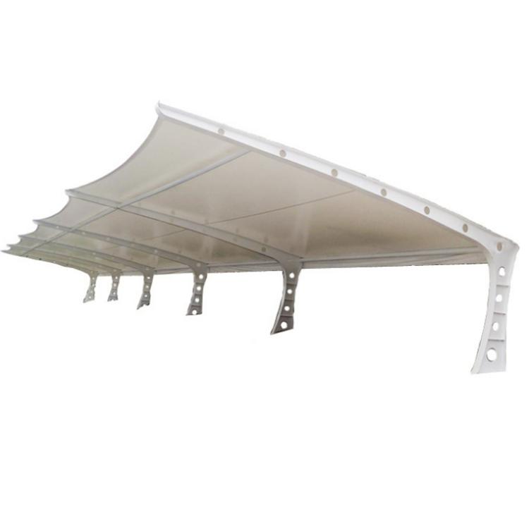 膜结构停车棚户外充电桩汽车棚 停车场雨蓬