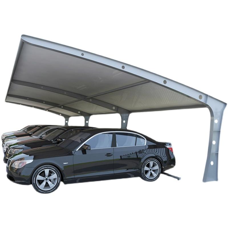 膜结构停车棚钢架定制大型张拉膜防晒充电桩汽车遮阳棚