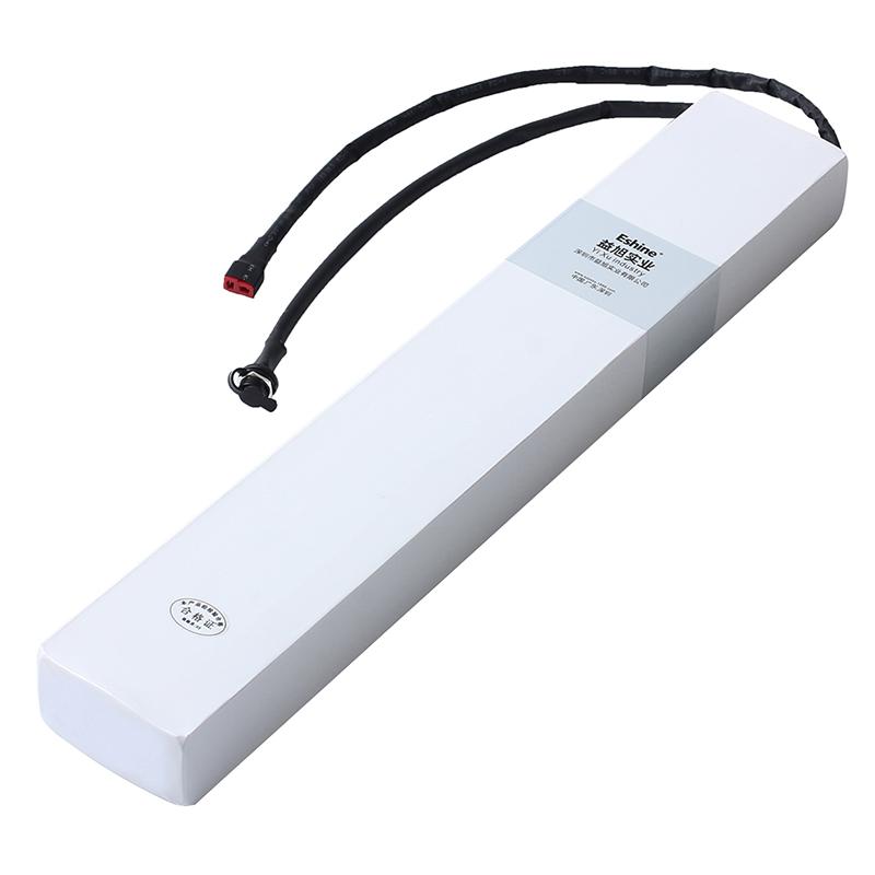 长条内置36v48v锂电池爱玛电动滑板车锂电池瓶10AH
