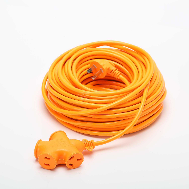电动车充电源延长线接线板10/15/20米排插